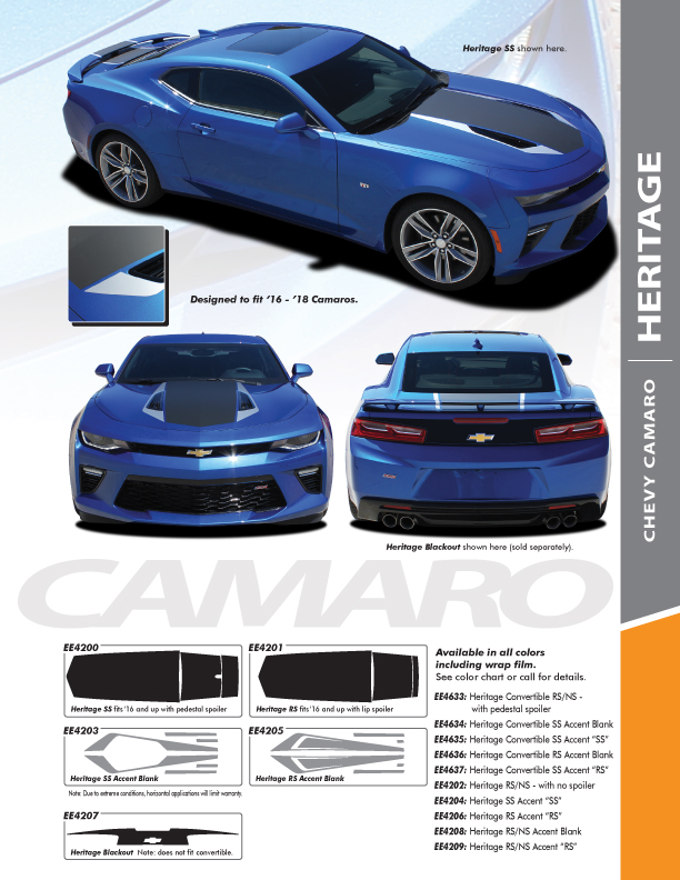 2017 Chevy Camaro Color Options Parks Motors ...